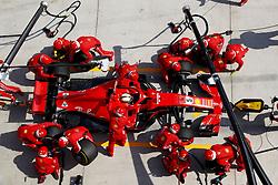 April 15, 2018 - Shanghai, China - Shanghai: Motorsports: Formula 1 2018 Heineken Chinese Grand Prix.Chinese Formula One Grand Prix Shanghai Circuit in Shanghai, China. , #5 Sebastian Vettel (GER, Scuderia Ferrari) (Credit Image: © Hoch Zwei via ZUMA Wire)