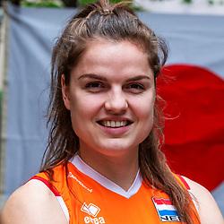 13-10-2018 JPN: World Championship Volleyball Women day 14, Nagoya<br /> Portraits Dutch Volleybal Team - Yvon Belien #3 of Netherlands