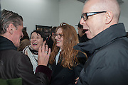 JUDY BLAME; FIONA SKINNER; NICOLA TYSON; NEIL TENNANT, Nicola Tyson exhibition of photographs: Bowie Nights at Billy's Club London 1978. Sadie Coles HQ. 9 Balfour Mews, London W1. 25 January 2013.