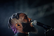 """Tobe Nwigwe performs at the final show of his """"Tobe From the SWAT"""" tour at the White Oak Music Hall in Houston, TX Saturday April 20, 2019."""
