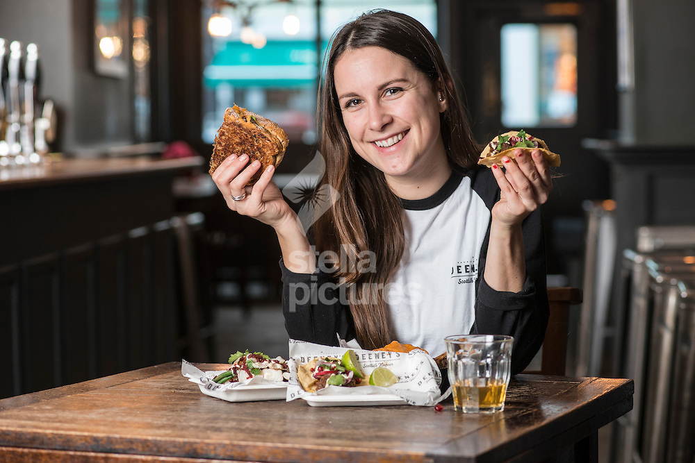 Carol Deeney chef/proprietor of 'Deeney's - Scottish Flavour' at The Dukes Head in Highgate.<br /> Picture by Daniel Hambury/Stella Pictures Ltd +44 7813 022858<br /> 20/01/2016
