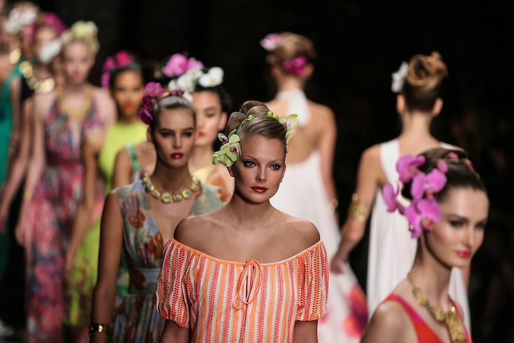 Issa show during London Fashion Week, Spring/Summer 2013