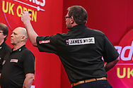 James Wade  during the Ladbrokes UK Open Darts 2021 at stadium:mk, Milton Keynes, England. UK on 7 March 2021.
