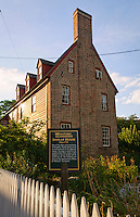 Shiplap House circa 1715 Historic Downtown Annapolis Maryland  MD  USA