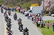 Motorcade returns U.S. Army Sgt. Shawn M. Farrell II  home to Accord