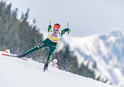 02.03.2019, Seefeld, AUT, FIS Weltmeisterschaften Ski Nordisch, Seefeld 2019, Nordische Kombination, Langlauf, Team Bewerb 4x5 km, im Bild Johannes Rydzek (GER) // Johannes Rydzek of Germany during the Cross Country Team competition 4x5 km of Nordic Combined for the FIS Nordic Ski World Championships 2019. Seefeld, Austria on 2019/03/02. EXPA Pictures © 2019, PhotoCredit: EXPA/ Stefan Adelsberger