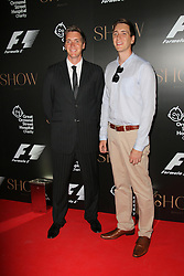 © Licensed to London News Pictures. 02/07/2014, UK. Oliver Phelps; James Phelps, F1 Party in aid of Great Ormond Street Hospital Children's Charity, Victoria and Albert Museum, London UK, 02 July 2014. Photo credit : Richard Goldschmidt/Piqtured/LNP