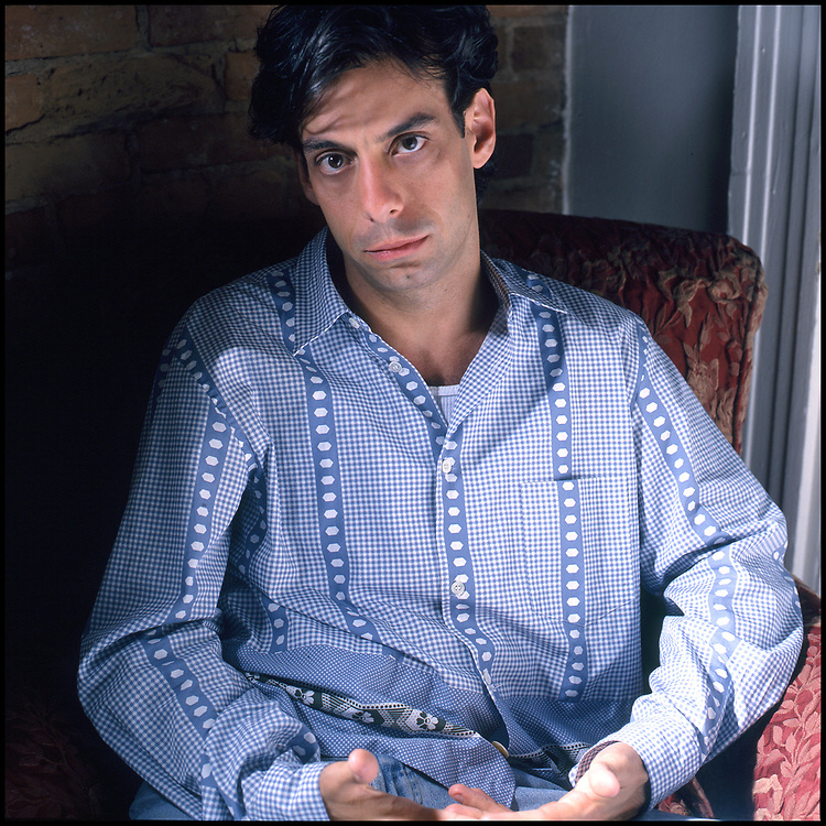 Joseph Mantello photographed at his home in New York City for The Advocate in September 1994.