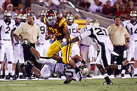 1 September 2007: FB #31 Stanley Havili runs the ball during USC Trojans college football team defeated the Idaho Vandals 38-10 at the Los Angeles Memorial Coliseum in CA.  NCAA Pac-10 #1 ranked team first game of the season.