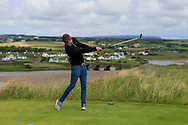 Jack Pierse (Portmarnock) on the 9th tee during Matchplay Round 1 of the South of Ireland Amateur Open Championship at LaHinch Golf Club on Friday 22nd July 2016.<br /> Picture:  Golffile | Thos Caffrey<br /> <br /> All photos usage must carry mandatory copyright credit   (© Golffile | Thos Caffrey)