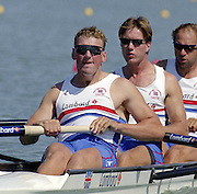 St Catherines, CANADA,  GBR M4-  left to Right, Matt PINSENT, Ed COODE and Steve REDGRAVE,  competing at the 1999 World Rowing Championships - Martindale Pond, Ontario. 08.1999..[Mandatory Credit; Peter Spurrier/Intersport-images]   ...St Catherines, CANADA,  GBR W2-, Bow Dot BLACKIE and Cath BISHOP,  competing at the 1999 World Rowing Championships - Martindale Pond, Ontario. 08.1999..[Mandatory Credit; Peter Spurrier/Intersport-images]   ... 1999 FISA. World Rowing Championships, St Catherines, CANADA
