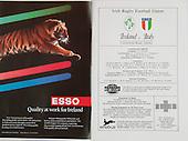 Rugby 31/12/1988 Friendly Ireland Vs Italy