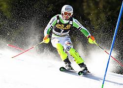 DOPFER Fritz of Germany competes during Men's Slalom - Pokal Vitranc 2014 of FIS Alpine Ski World Cup 2013/2014, on March 9, 2014 in Vitranc, Kranjska Gora, Slovenia. Photo by Matic Klansek Velej / Sportida