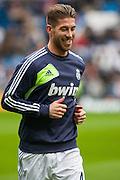 Sergio Ramos warm up