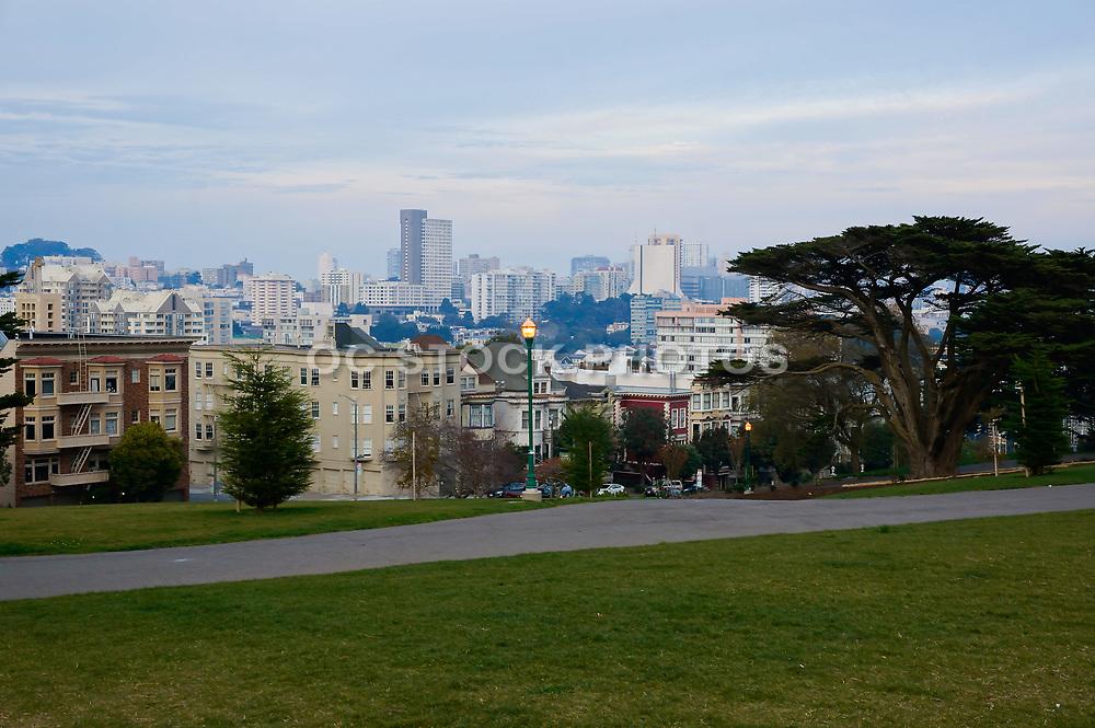 San Francisco Skyline on a Cloudy Day