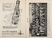 All Ireland Senior Hurling Championship Final,.Programme,.04.09.1955, 09.04.1955, 4th September 1955,.Galway 2-8, Wexford 3-13,.Minor Galway v Tipperary, .Senior Galway v Wexford,.Croke Park,..Advertisements, Club Orange Mineral Waters Distributors,