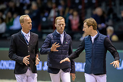 Bruynseels Niels, Devos Pieter, Guery Jerome, BEL<br /> Jumping International de Bordeaux 2020<br /> © Hippo Foto - Dirk Caremans<br />  08/02/2020