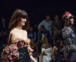 #MBFWCT17 Afro Mod Trends African Gatsby. Mercedes Benz Fashion Week, Cape Town, 2017. Photo by Alec Smith/imagemundi.com