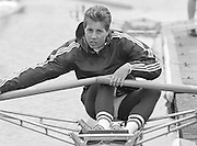 Nottingham. United Kingdom. <br /> BEL LW1X. Rita DEFAUW, Nottingham International Regatta, National Water Sport Centre, Holme Pierrepont. England<br /> 31.05.1986 to 01.06.1986<br /> <br /> [Mandatory Credit: Peter SPURRIER/Intersport images] 1986 Nottingham International Regatta, Nottingham. UK