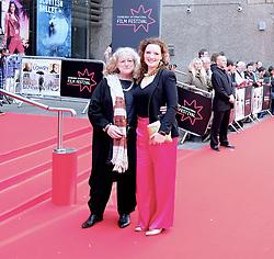 Edinburgh International Film Festival 2019<br /> <br /> Mrs Lowry (UK Premiere, closing night gala)<br /> <br /> Pictured: Jenny Beavan (costume designer) and Caitlin Beavan (co-producer)<br /> <br /> Aimee Todd | Edinburgh Elite media