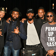 HunnyB band member preforms at BBC Club at W12 Studios Lunch party on 14 March 2019, London, UK.