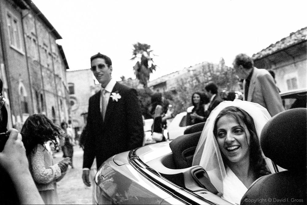 Wedding of Mischa and Cristina Berlinski-Lampieri.