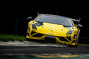 August 22-24, 2014: Virginia International Raceway. #1 Jake Rattenbury, Jota Corse, Lamborghini of Dallas