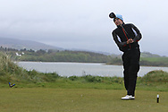 Sean Kearns (Elm Park) on the 6th tee during Round 3 of the Ulster Boys Championship at Donegal Golf Club, Murvagh, Donegal, Co Donegal on Friday 26th April 2019.<br /> Picture:  Thos Caffrey / www.golffile.ie