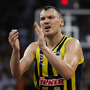 Fenerbahce Ulker's Sarunas JASIKEVICIUS during their Turkish Basketball league Play Off Final Sixth leg match Galatasaray between Fenerbahce Ulker at the Abdi Ipekci Arena in Istanbul Turkey on Friday 17 June 2011. Photo by TURKPIX