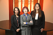 SHOT 12/4/19 11:25:03 AM - McGuane & Hogan, P.C., a Colorado family law firm located in Denver, Co. Includes attorneys Kathleen Ann Hogan, Halleh T. Omidi and Katie P. Ahles. (Photo by Marc Piscotty / © 2019)