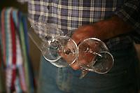 Muscadet winemaker Jo Landron, Domaine de la Louvetrie, La Haye Foussiere....Photograph by Owen Franken