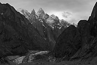 K7, Link Sar and the Charakusa Glacier, Pakistan