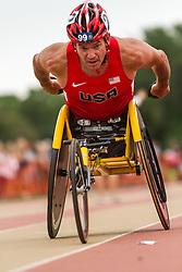 Mens' Wheelchair Mile, Krige Schabort