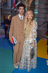 Arthur Guinness and Hannah Weiland at The Royal Academy of Arts Summer Exhibition Preview Party 2019, Burlington House, Piccadilly, London England. 04 June 2019.