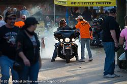The Iron Horse Saloon during Daytona Beach Bike Week. Ormond Beach, FL, USA. Sunday March 8, 2015.  Photography ©2015 Michael Lichter.