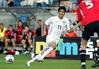 Fotball / Football<br /> Privatlandskamp / Friendly match<br /> Norge v Sør-Korea 0-0<br /> Norway v Korea Republic 0-0<br /> 01.06.2006<br /> Foto: Morten Olsen, Digitalsport<br /> <br /> Ki-Hyeon Seol
