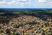 Nederland, Gelderland, Lochem, 30-06-2011;.Zicht op het centrum van Lochem. luchtfoto (toeslag), aerial photo (additional fee required).copyright foto/photo Siebe Swart