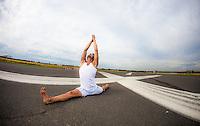 Christian Klix at Tempelhof Airport, Berlin