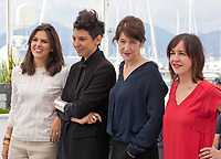 at the Camera D'or jury photo call at the 71st Cannes Film Festival, Thursday 10th May 2018, Cannes, France. Photo credit: Doreen Kennedy
