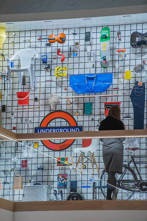 The Design Museum has moved to Kensington High Street from its former home as an established London landmark on the banks of the river Thames.  The new museum will be devoted to contemporary design and architecture, an international showcase for the many design skills at which Britain excels and a creative centre, promoting innovation and nurturing the next generation of design talent. His Royal Highness toured the museum to view the transformation of a modernist building from the 1960s, which was the former Commonwealth Institute.  17  November 2016, London.