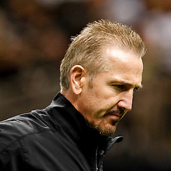 November 25, 2012; New Orleans, LA, USA; New Orleans Saints defensive coordinator Steve Spagnuolo prior to a game against the San Francisco 49ers at the Mercedes-Benz Superdome. The 49ers defeated the Saints 31-21. Mandatory Credit: Derick E. Hingle-US PRESSWIRE
