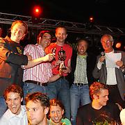 Huizer Sportgala 2005, uitreiking sportprijzen, sportploeg TTV Huizen 1