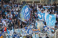 Supporters Marseille - 17.04.2015 - Nantes / Marseille - 33eme journee de Ligue 1<br />Photo : Vincent Michel / Icon Sport