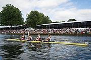 Henley Royal Regatta, Henley on Thames, Oxfordshire, 28 June - 2 July 2017.  Saturday  16:17:59   01/07/2017  [Mandatory Credit/Intersport Images]<br /> <br /> Rowing, Henley Reach, Henley Royal Regatta.<br /> <br /> The Women's Four<br />  Hollandia Roeiclub, Netherlands v  Vesper Boat Club and Princeton National Rowing Association, U.S.A.