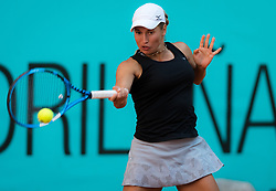 May 4, 2019 - Madrid, MADRID, SPAIN - Yulia Putintseva of Kazakhstan in action during her first-round match at the 2019 Mutua Madrid Open WTA Premier Mandatory tennis tournament (Credit Image: © AFP7 via ZUMA Wire)