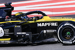 February 18, 2019 - Montmelo, BARCELONA, Spain - Nico Hulkenberg from Germany with 27 Renault F1 Team RS19 in action during the Formula 1 2019 Pre-Season Tests at Circuit de Barcelona - Catalunya in Montmelo, Spain on February 18. (Credit Image: © AFP7 via ZUMA Wire)