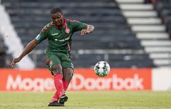 Jores Okore (AaB) under kampen i 3F Superligaen mellem FC København og AaB den 17. juni 2020 i Telia Parken, København (Foto: Claus Birch).