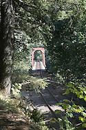 Railroad Bridge, next to Siuslaw River
