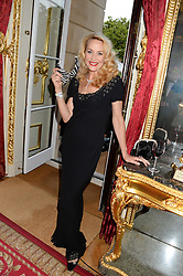JERRY HALL at The Animal Ball in aid of The Elephant Family held at Lancaster House, London on 9th July 2013.