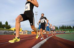 Runner Tomas Kazi (48) of Hungary at 4th Memorial of Matic Sustersic and Patrik Cvetan athletic meeting of Grand Prix Vzajemna, on June 1, 2009, in ZAK, Ljubljana, Slovenia. (Photo by Vid Ponikvar / Sportida)
